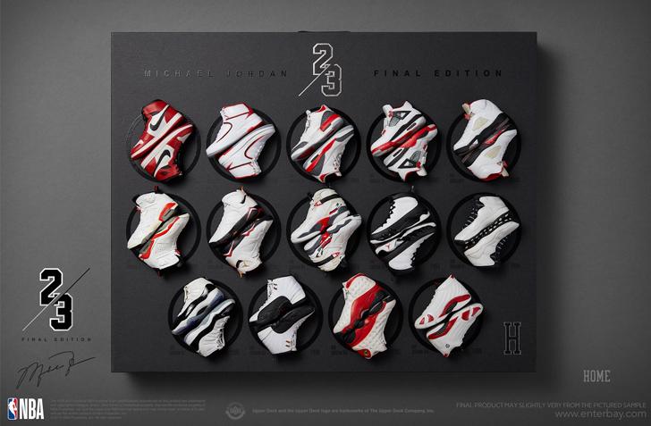 【3,000体限定】NBAクラシックコレクション マイケル・ジョーダン ファイナル リミテッドエディション エンターベイ