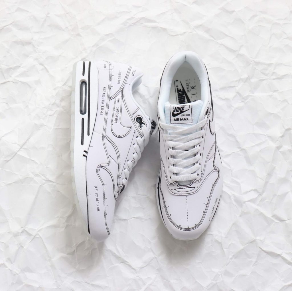 NIKE AIR MAX 1 SCHEMATIC