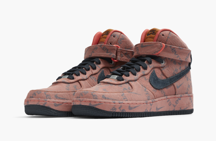 NIKE AIR FORCE 1 LOW & HIGH BY LEVI'S