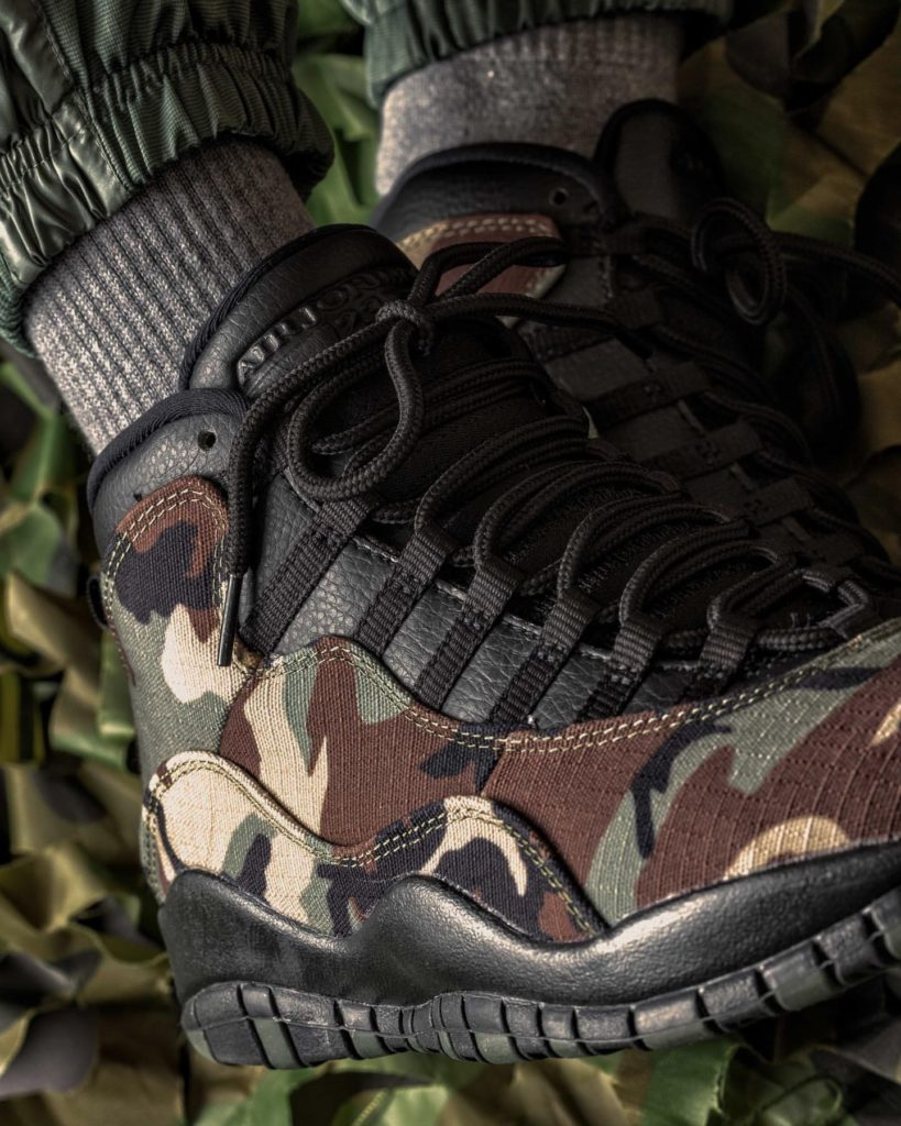 AIR JORDAN 10 RETRO DESERT CAMO