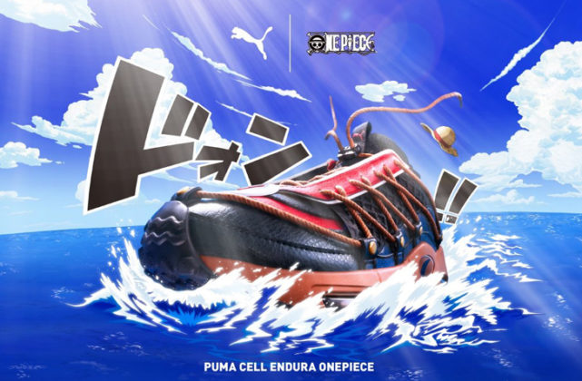 【8月9日 発売予定】PUMA X ONE PIECE CELL ENDURA  (372730-01)