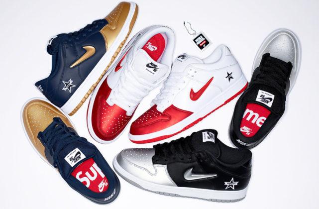 【9月7日 発売予定】Supreme X Nike SB Dunk Low 3カラー