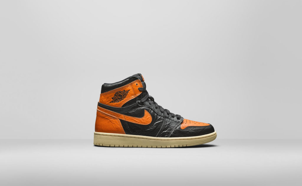 Air Jordan I High OG Black/Orange