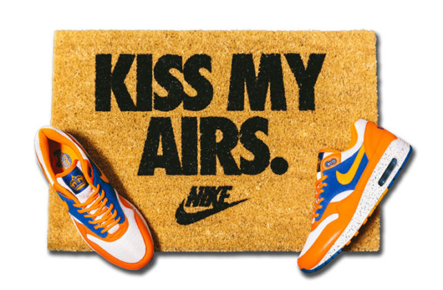 NIKE X OVERKILL KISS MY AIRS DOORMAT / ナイキ X オーバーキル キス マイ エアーズ ドアマット