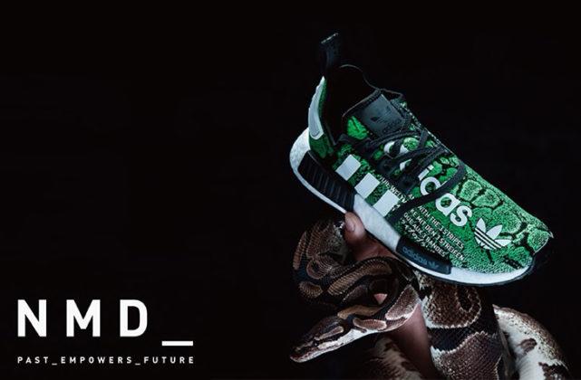 10月12日 発売予定 adidas Originals for atmos NMD R1 ATMOS G-SNK