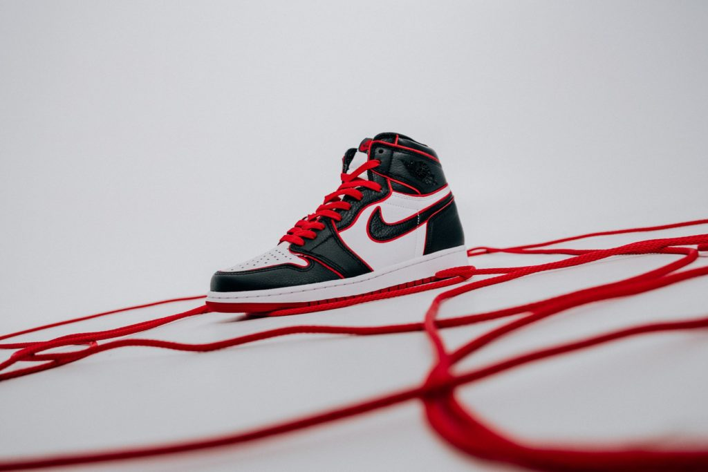 AIR JORDAN 1 HIGH OG BLACK/RED