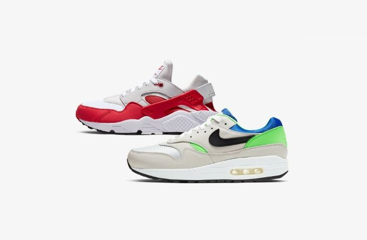 "11月6日 発売予定 NIKE AIR MAX 1 & NIKE AIR HUARACHE ""DNA SERIES"" (AR9863-900)"