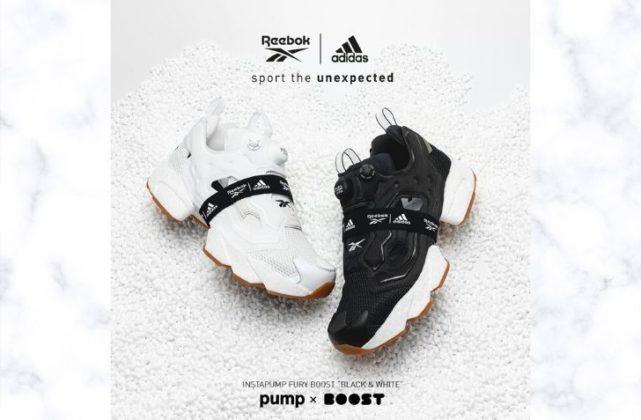 11月11日 発売予定 Reebok x adidas インスタポンプフューリー フューリー ブースト / INSTAPUMP FURY BOOST