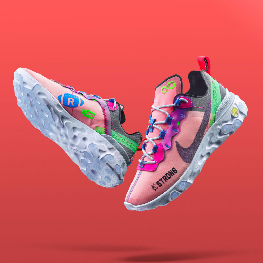 Element React 55 by Kahleah Corona