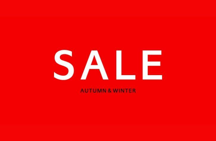 【UNITED ARROWS LTD. ONLINE STORE】2019 AUTUMN & WINTER SALE