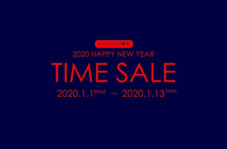 1月1日 0:00 スタート BILLY'S ONlINE 2020 HAPPY NEW YEAR SALE