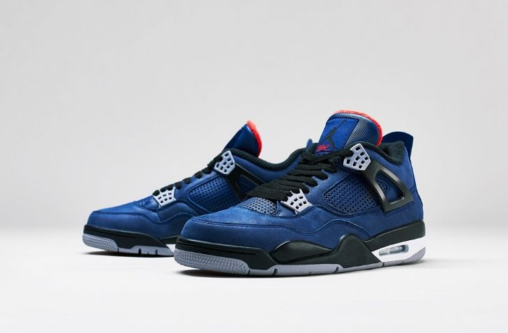 "12月21日 発売予定 AIR JORDAN 4 RETRO ""WINTER LOYAL BLUE"" (CQ9597-401)"
