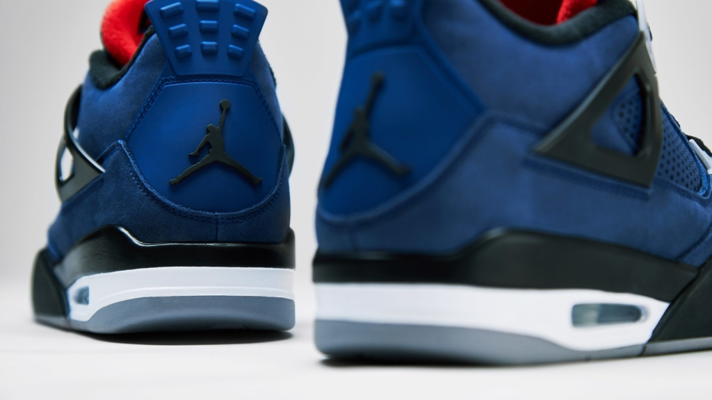 AIR JORDAN 4 RETRO WINTER LOYAL BLUE
