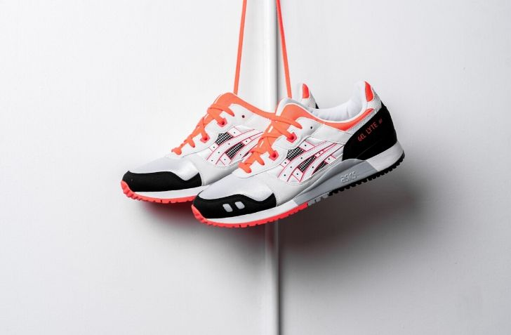 "1月31日 発売予定 ASICS GEL-LYTE III OG ""WHITE/FLASH CORAL"""