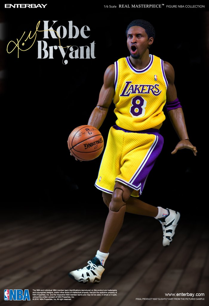 エンターベイ 1/6 リアルマスターピース NBAコレクション コービー・ブライアント