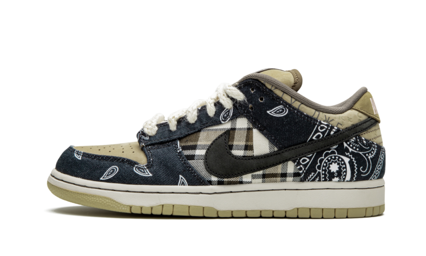 "2月29日 発売予定 NIKE SB DUNK LOW PRM QS ""TRAVIS SCOTT"" (CT5053-001)"