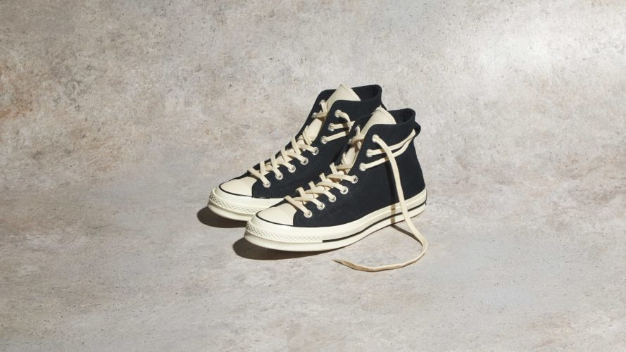 CONVERSE X FEAR OF GOD CHUCK TAYLOR 1970S HI BLACK & WHITE