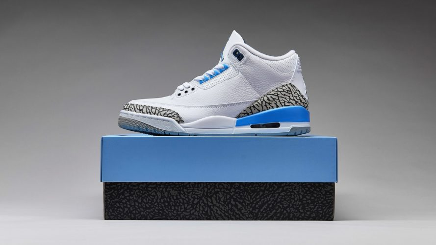 "5月23日 再販予定 AIR JORDAN 3 RETRO ""VALOR BLUE"" (CT8532-104)"