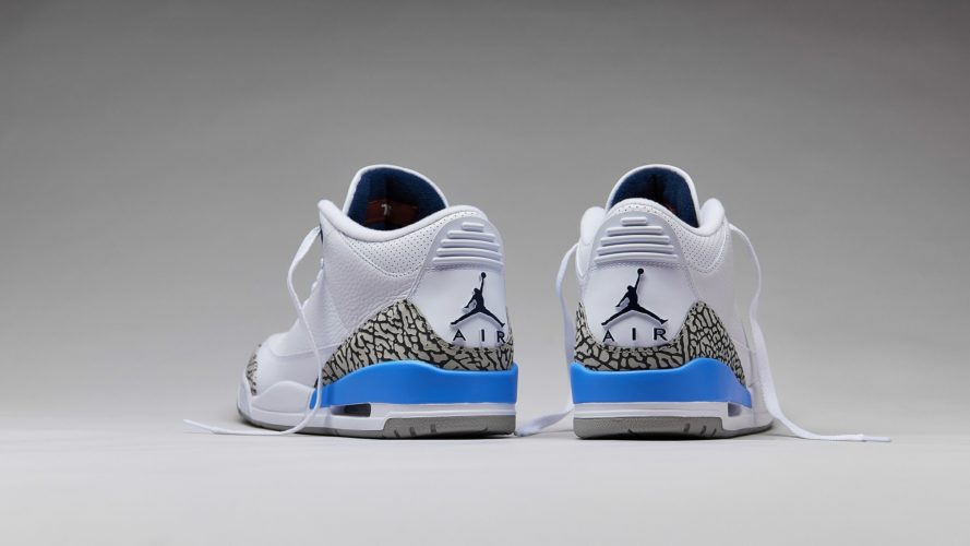 AIR JORDAN 3 RETRO VALOR BLUE