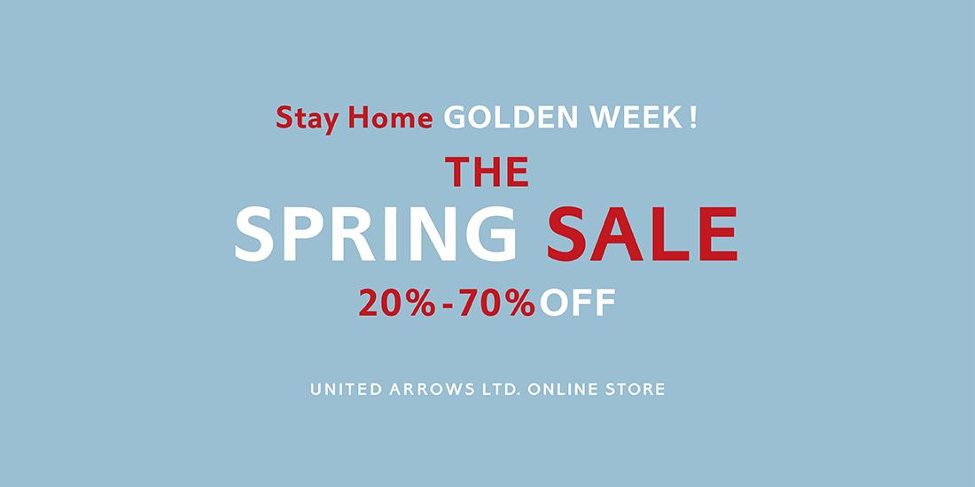 最大70%OFF!Stay Home GOLDEN WEEK!THE SPRING SALE