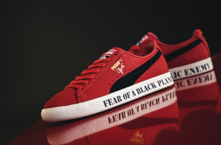 4月9日 発売予定 PUMA CLYDE X PUBLIC ENEMY (374539-01)