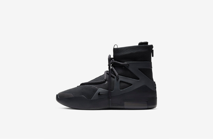 "4月25日 発売予定 NIKE AIR FEAR OF GOD 1 ""TRIPLE BLACK"" (AR4237-005)"