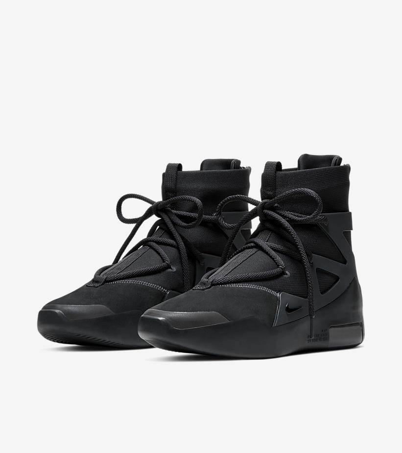 4月25日 発売予定 NIKE AIR FEAR OF GOD 1 TRIPLE BLACK AR4237-005