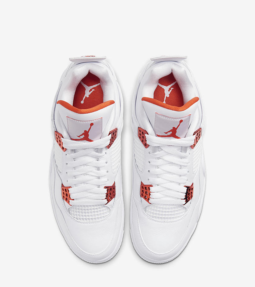 5月5日 発売予定 AIR JORDAN 4 RETRO ORANGE METALLIC CT8527-118
