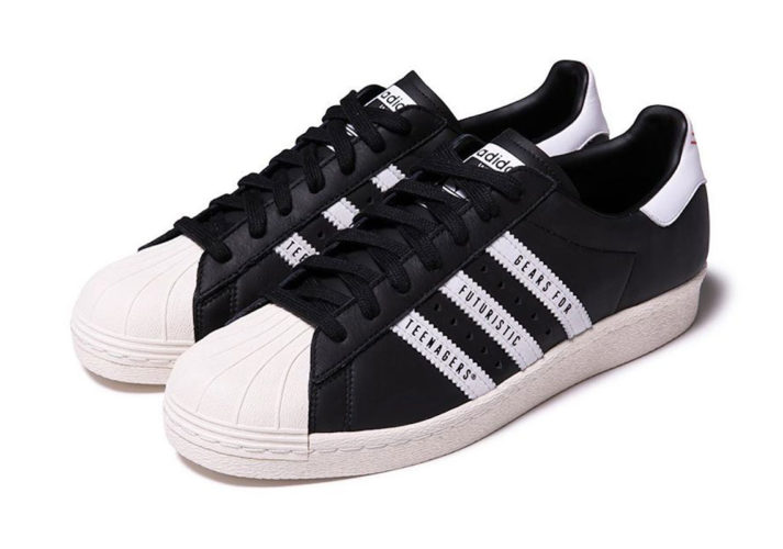ADIDAS SUPERSTAR 80S X HUMAN MADE