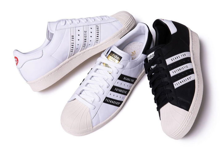 4月10日 先行販売 ADIDAS SUPERSTAR 80S X HUMAN MADE