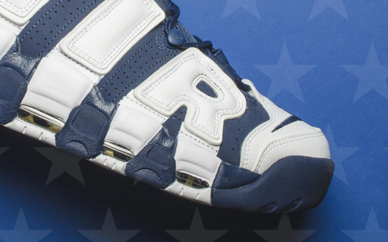 NIKE AIR MORE UPTEMPO OLYMPIC 2020 414962-104