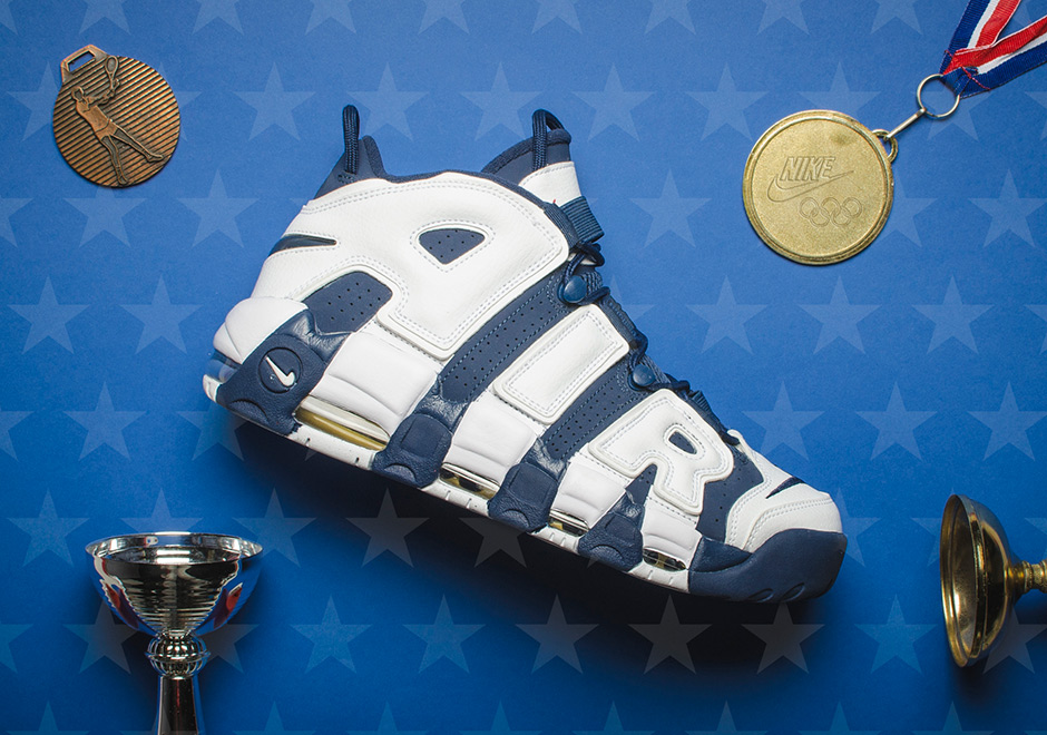 "NIKE AIR MORE UPTEMPO ""OLYMPIC"" 2020 (414962-104)"
