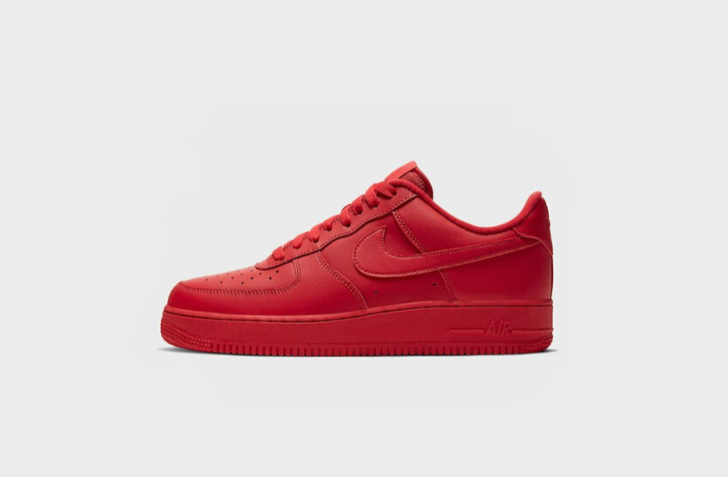 "NIKE AIR FORCE 1 '07 LV8 ""TRIPLE RED"" (CW6999-600)"