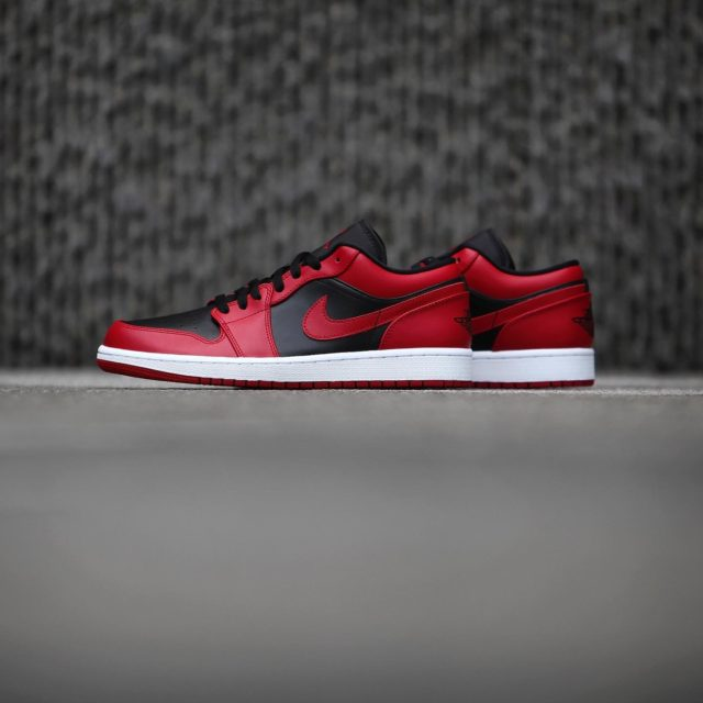 7月1日 発売予定 AIR JORDAN 1 LOW VARSITY RED & BLACK (553558-606)