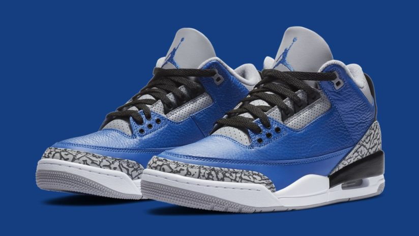 6月30日 発売予定 AIR JORDAN 3 RETRO BLUE CEMENT (CT8532-400)