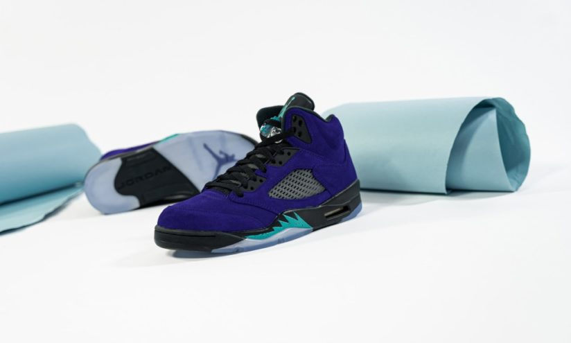 7月7日 発売予定 AIR JORDAN 5 RETRO PURPLE GRAPE (136027-500)