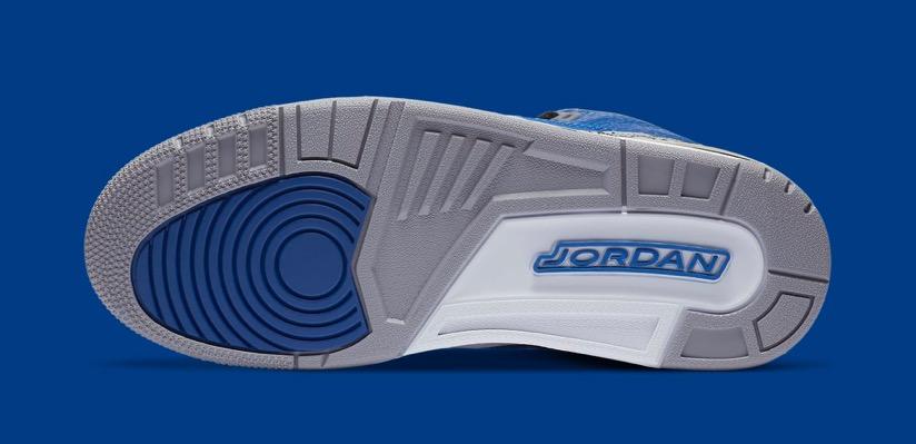 6月26日 発売予定 AIR JORDAN 3 RETRO BLUE CEMENTL (CT8532-400)