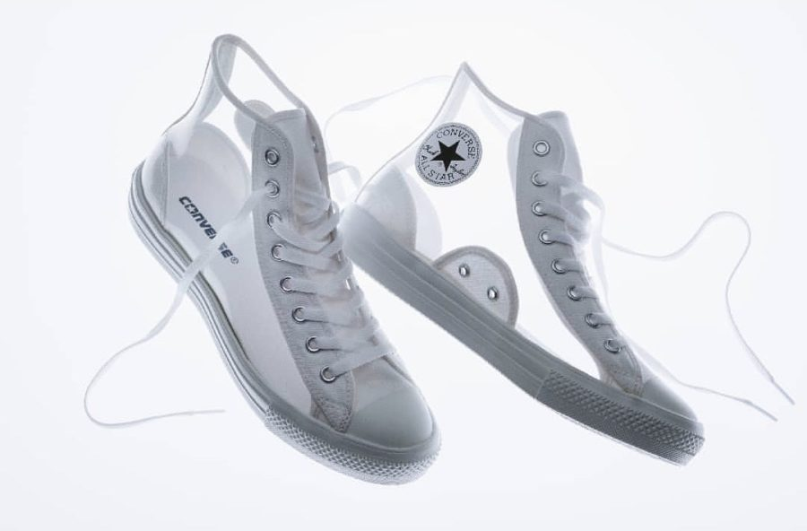 7月23日 発売予定 CONVERSE ALL STAR LIGHT CLEARMATERIAL HI