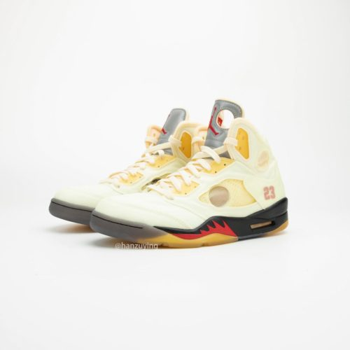 2020年発売予定 OFF-WHITE X AIR JORDAN 5 SAIL (CT8480-100)