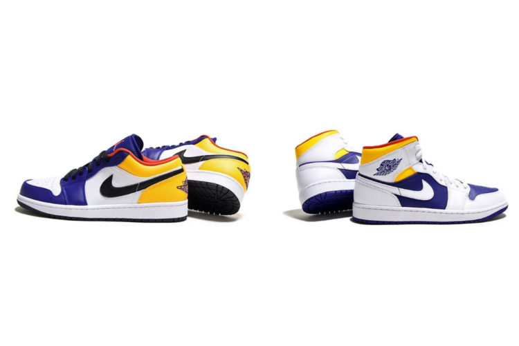 8月8日発売予定 AIR JORDAN 1 MID & AIR JORDAN 1 LOW