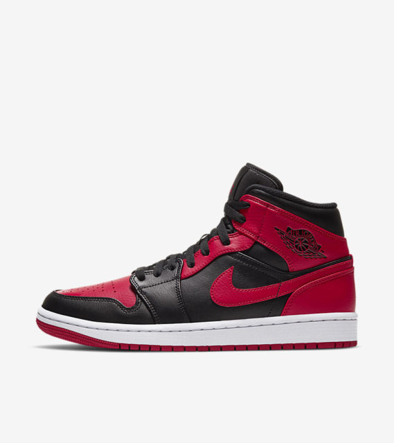 近日発売予定 AIR JORDAN 1 MID BRED (554724-074)