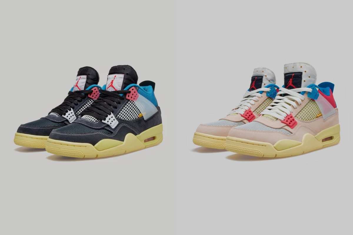 8月29日 発売予定 UNION X AIR JORDAN 4 RETRO (DC9533-001,DC9533-800)