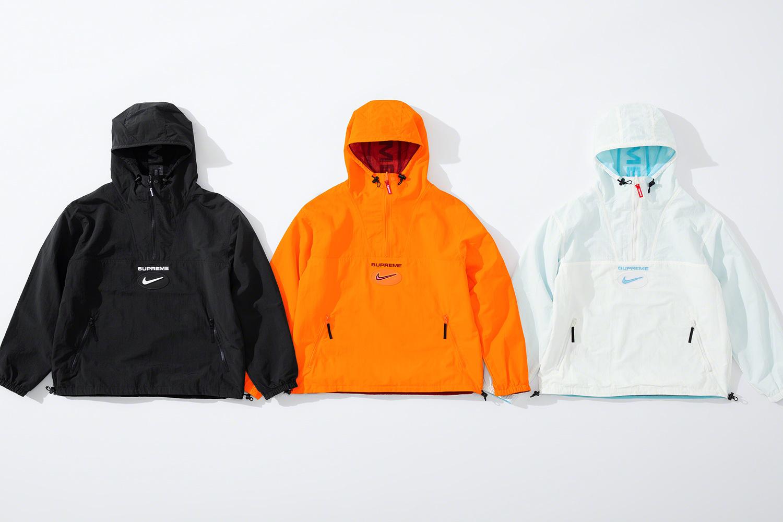 9月5日 発売予定 Supreme / Nike アパレルコレクション