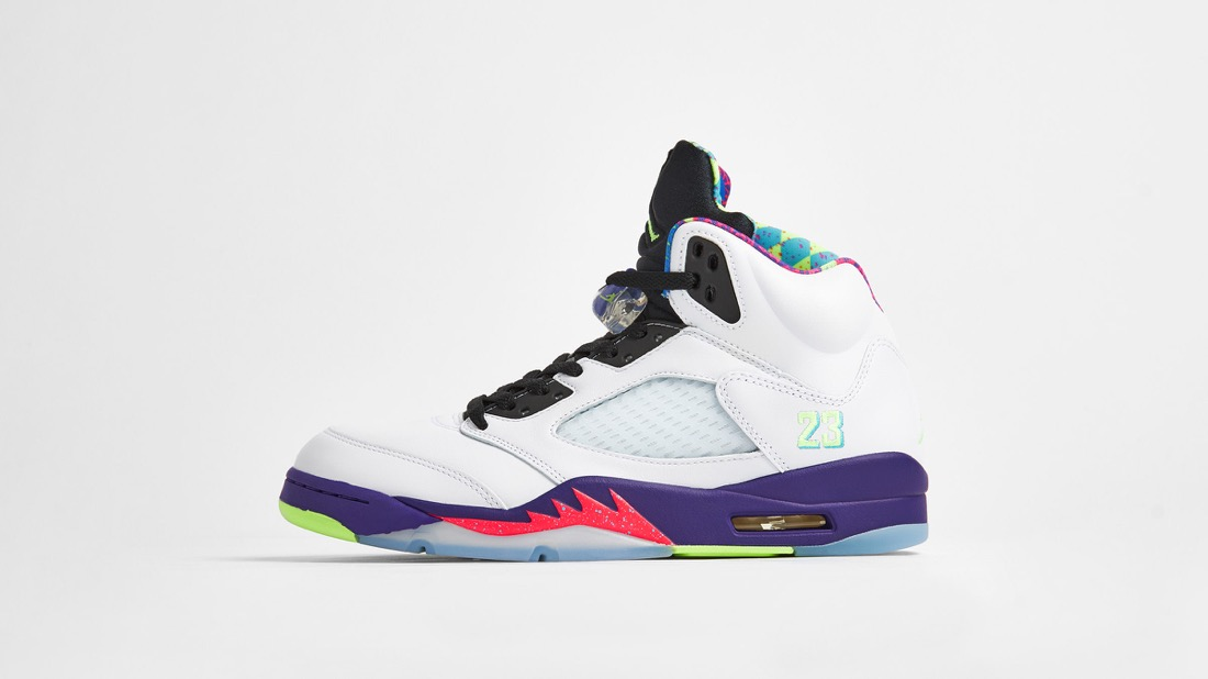 8月15日 発売予定 AIR JORDAN 5 RETRO GHOST GREEN (DB3335-100)