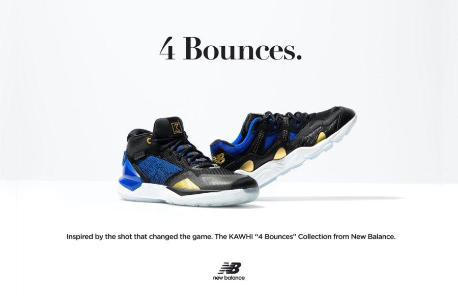 8月21日 発売予定 NEW BALANCE 4 Bounces (BBKLSTW1) カワイ・レナード シグネチャーモデル