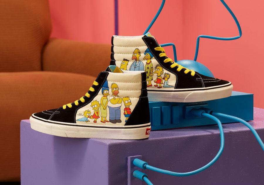 8月7日 発売予定 VANS × The Simpsons