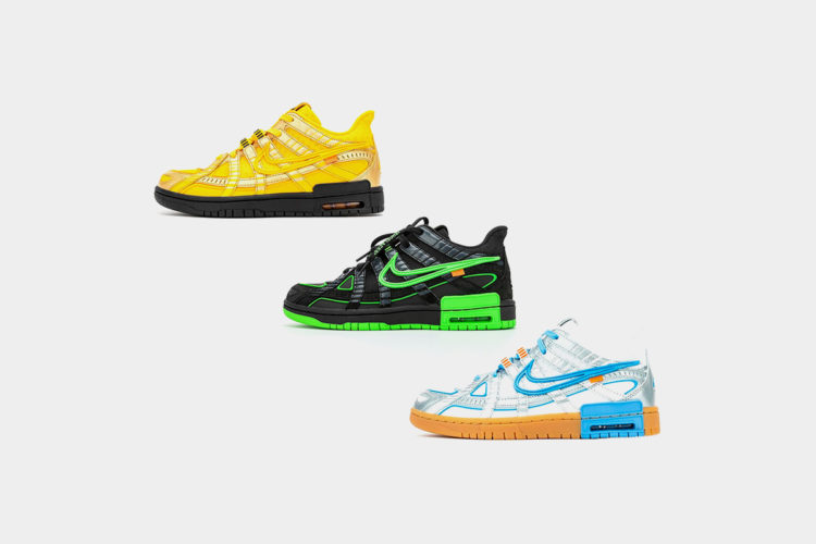 10月1日 発売予定 OFF-WHITE X NIKE AIR RUBBER DUNK