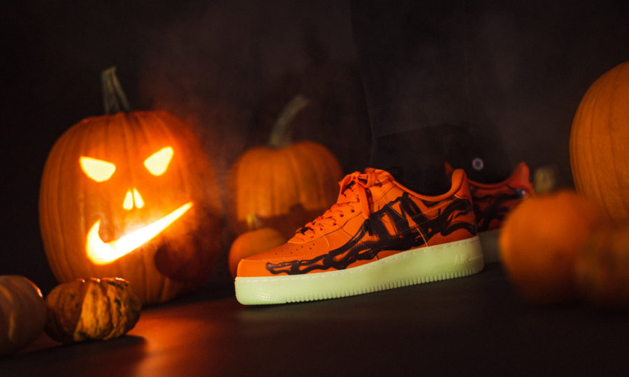 10月28日 発売予定 NIKE AIR FORCE 1 '07 QS ORANGE SKELETON (CU8067-800)