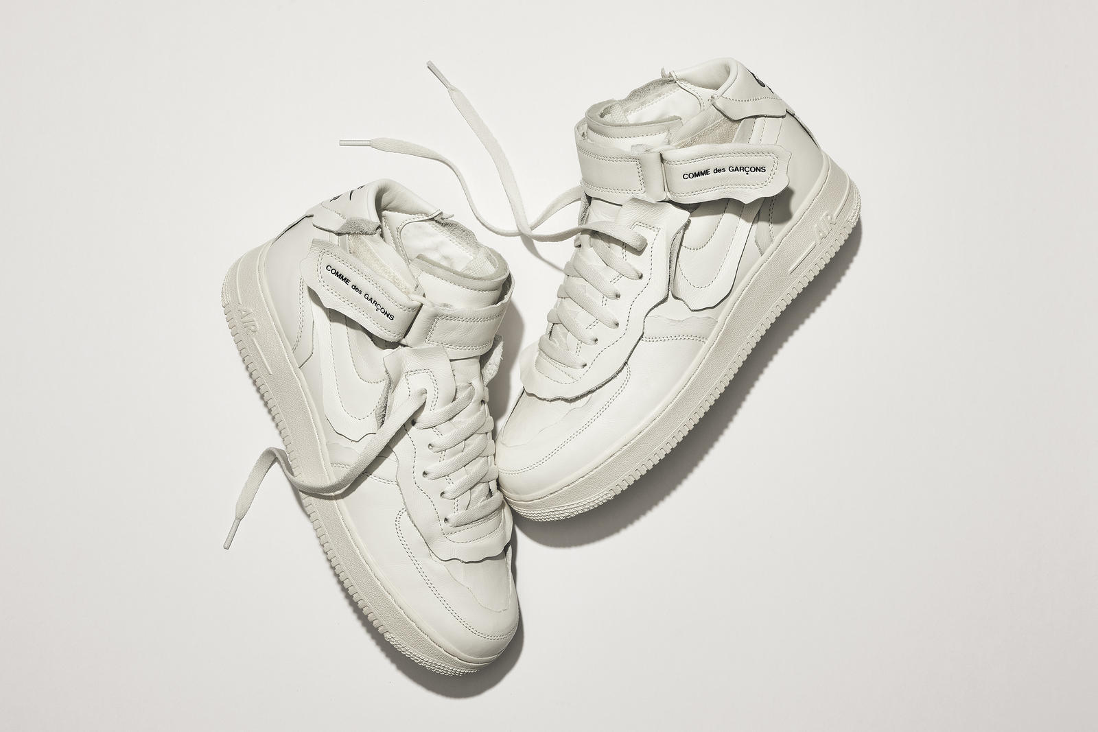 10月23日 発売予定 Nike x COMME des GARÇONS Air Force 1 Mid