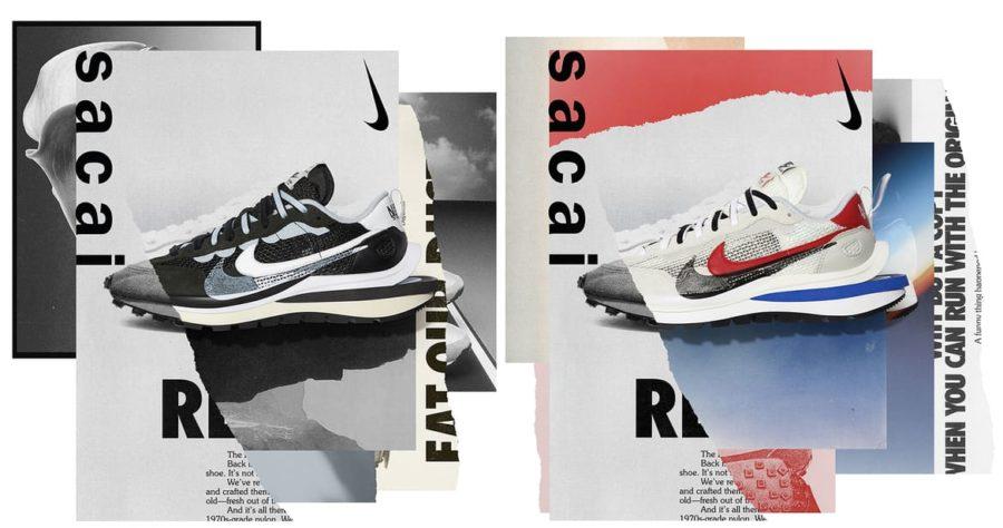 11月6日 発売予定 Nike x sacai VaporWaffle (CV1363-100,CV1363-001)